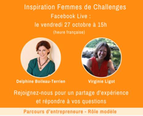 """Interview FB live """"Entrepreneuriat et Gestion des Émotions"""" ce vendredi 27/10 à 15h"""
